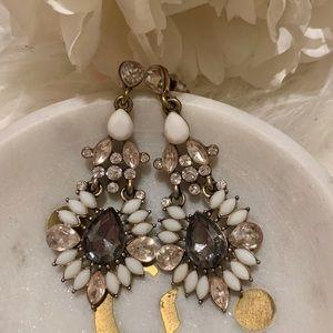 Jewelry - Statement chandelier crystal earrings